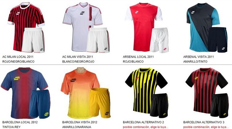 Uniformes de Futbol Silver Sport 1