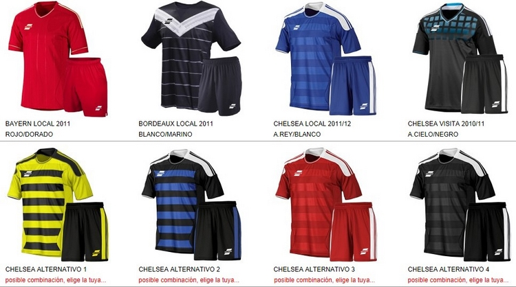 Uniformes de Futbol Silver Sport 2