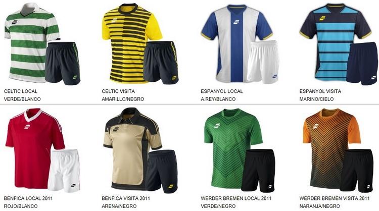 Uniformes de Futbol Silver Sport 4