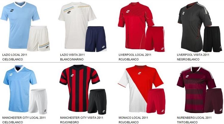 Uniformes de Futbol Silver Sport 6
