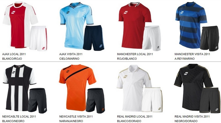 Uniformes de Futbol Silver Sport 7
