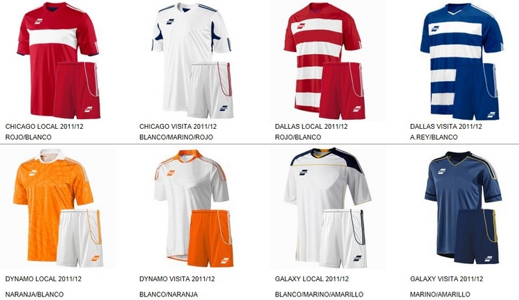 Uniformes de Futbol Silver Sport 8