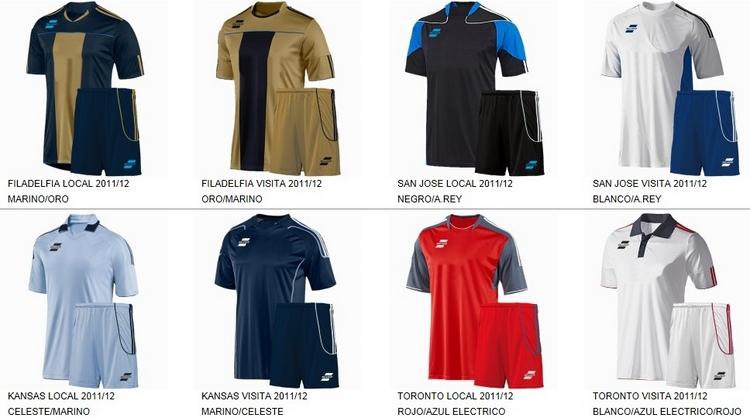 Uniformes de Futbol Silver Sport 11