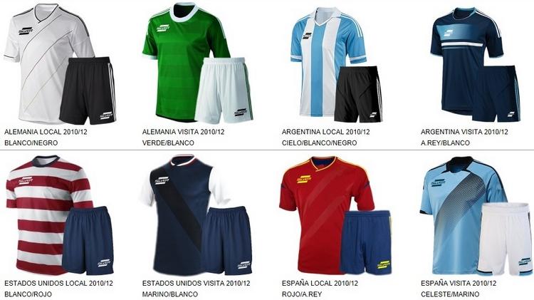 Uniformes de Futbol Silver Sport 13