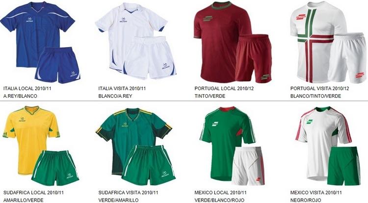 Uniformes de Futbol Silver Sport 15