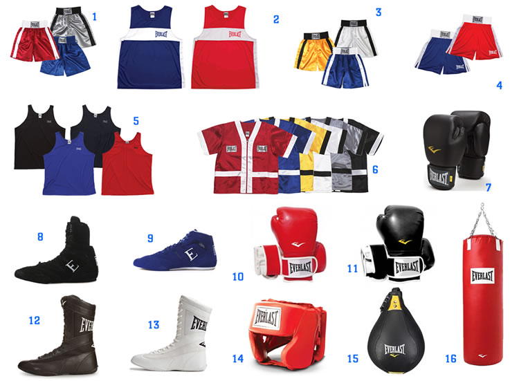 Uniformes de Boxeo y Karate