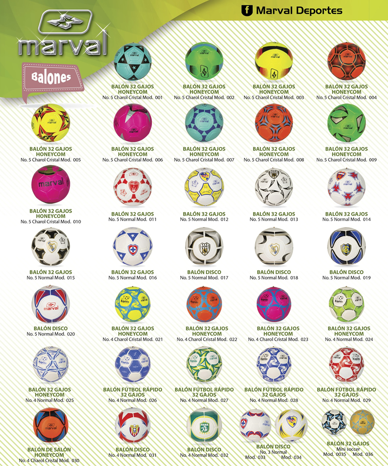 Balones Marval