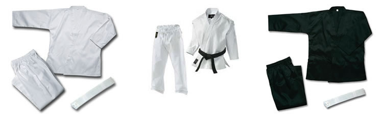 Uniformes de Boxeo y Karate