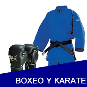Boxeo y Karate